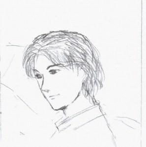 Ini juga random, blm beres. Rencananya jadi karakter salah satu tokoh di cerpen saya. Vir Lawrence *tsah gayanya*